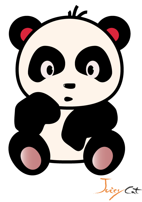Drawn panda cute lil Png Panda To Bear Tutorial