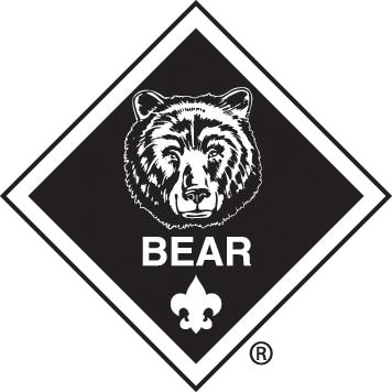 Bobcat clipart cub scout And black Cub logo scouting