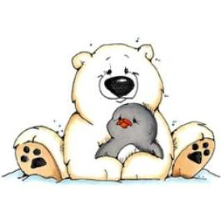 Winter clipart polar bear #15101 art art Winter clip