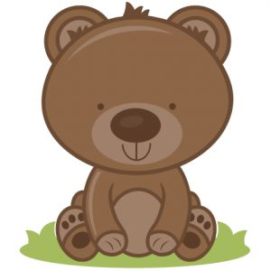 Brown clipart baby bear Zoo Bears In Zoo In