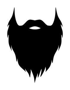 Beard clipart Free ideas DIY Printable http