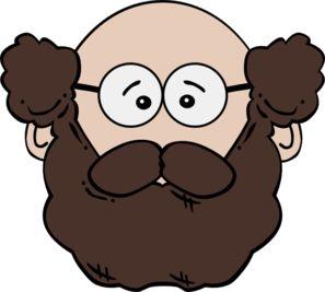 Beard clipart Art on clip Balding Best
