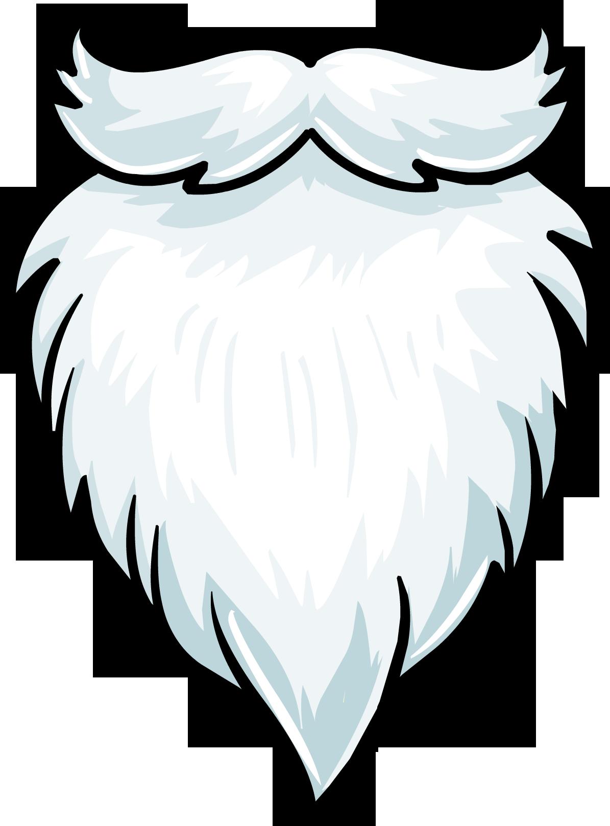 Beard clipart Clipartix Santa clipart clipart 6