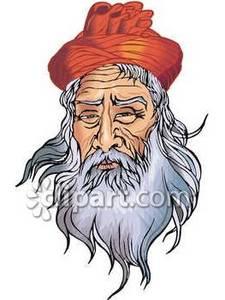 Beard clipart bearded man Beard with and Stock Man