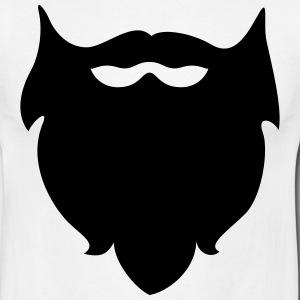 Beard clipart black and white #6