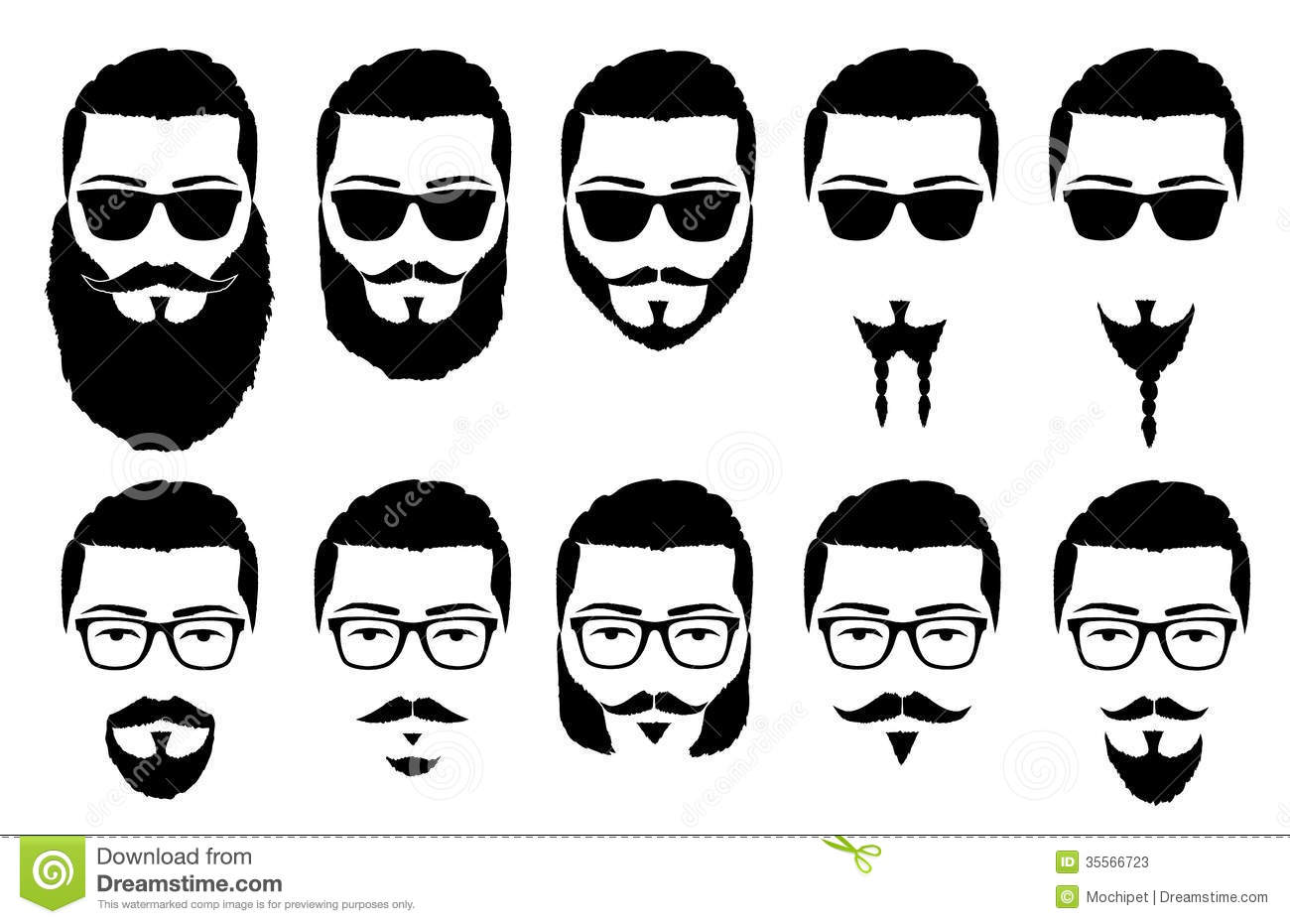 Mustaches cliparts Beards And Beard