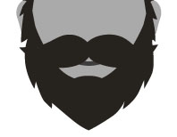 Beard clipart full #12
