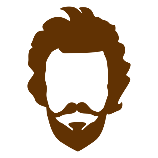 Beard clipart hairstyle transparent male #5