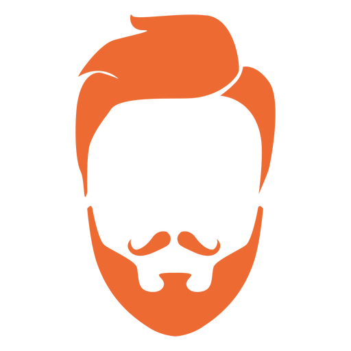 Beard clipart hairstyle transparent male #3