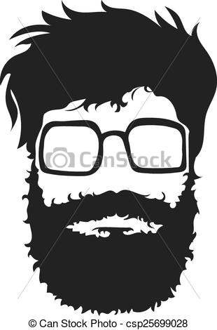 Beard clipart illustration #2