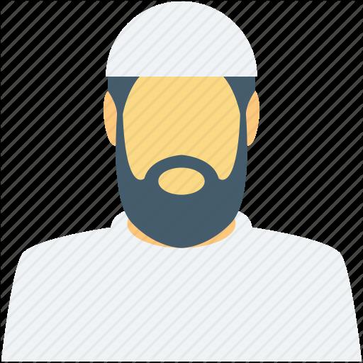 Beard clipart islamic Icon muslim muslim man muslim