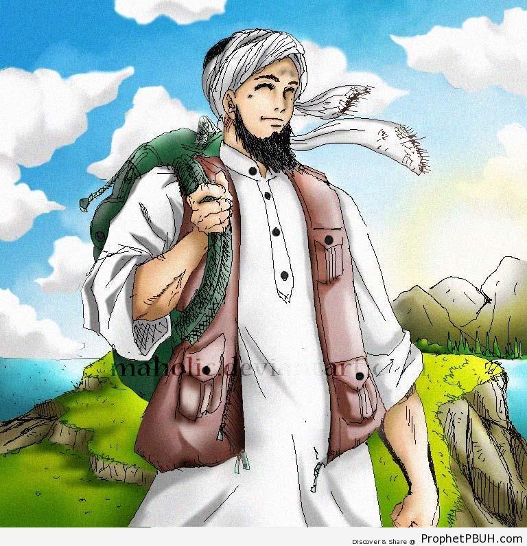 Beard clipart islamic Drawing) → ← (Bearded Drawings