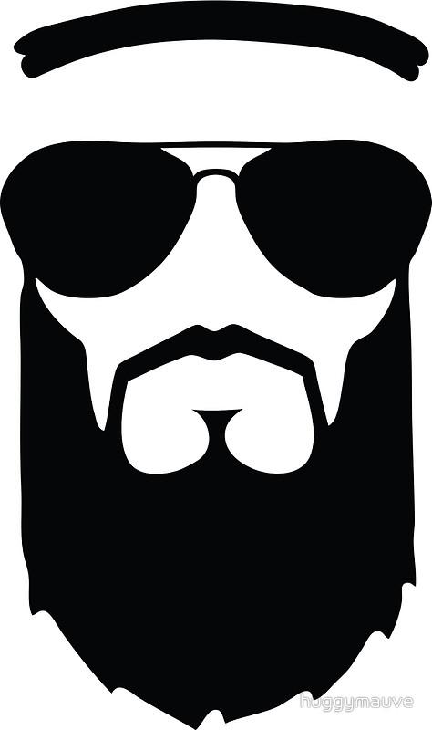 Beard clipart islamic  head Cards huggymauve sunglasses