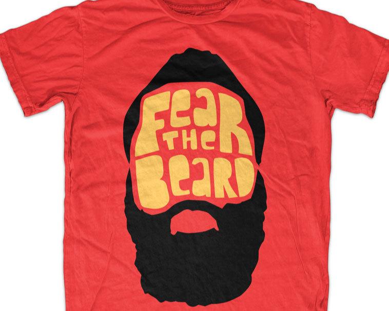 THE shirt FEAR BEARD t