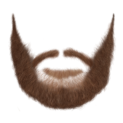 Beard clipart realistic #10