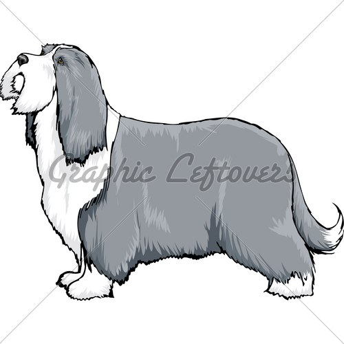 Bearded Collie clipart Bear Bearded Illustrator by A