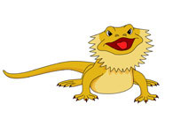 Bearded Dragon clipart cartoon Bearded Graphics Pictures Illustrations Kb