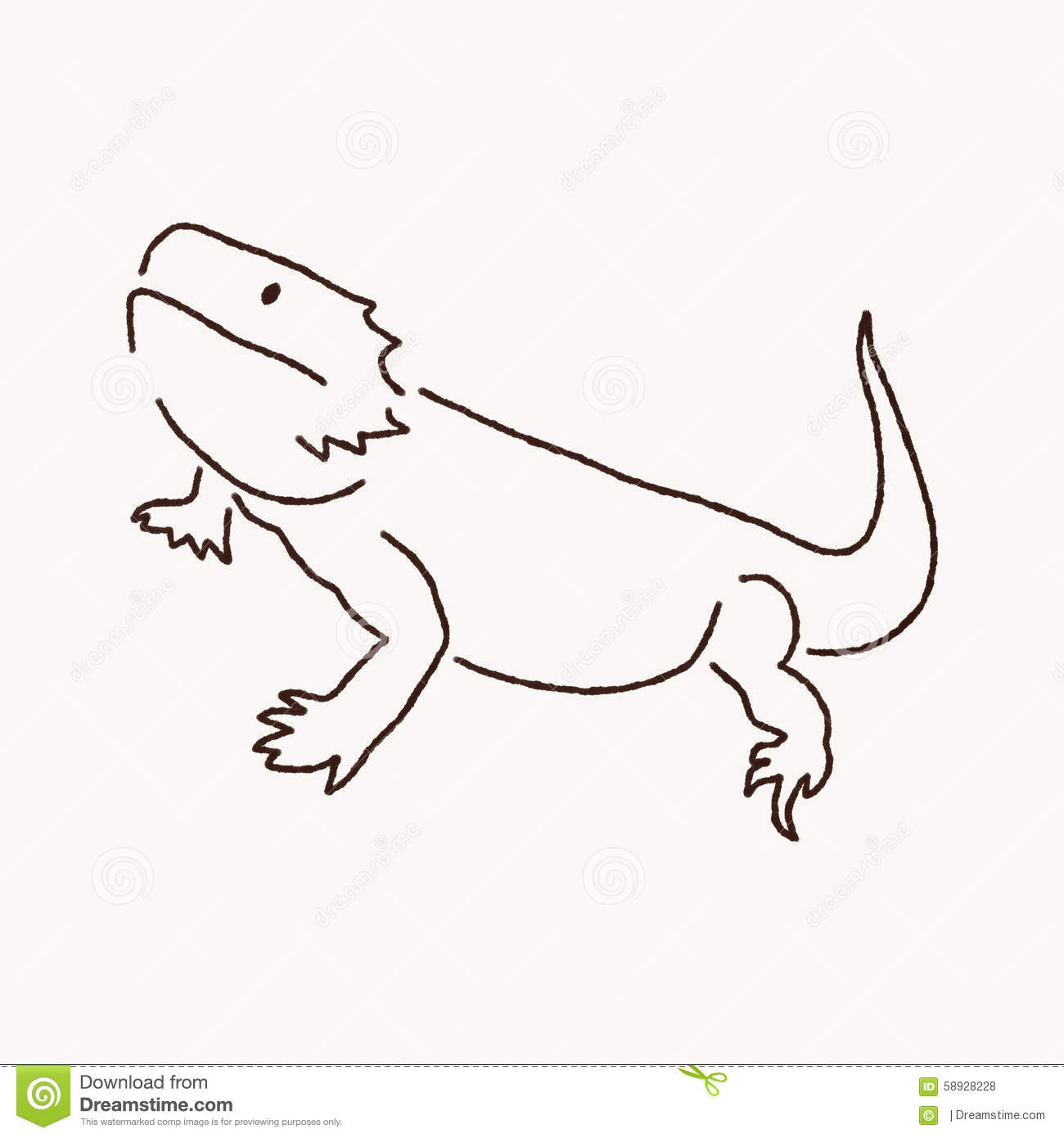 Bearded Dragon clipart head Bearded #79 clipart dragon Dragon