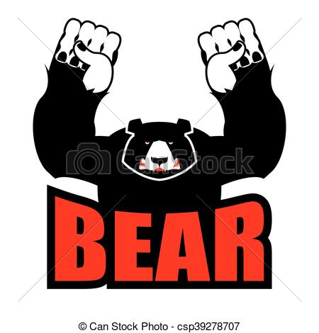 Anger clipart aggression Bear Clipart Aggressive beast for
