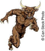 Beast clipart bull Minotaur Beast sports Beast Illustrations