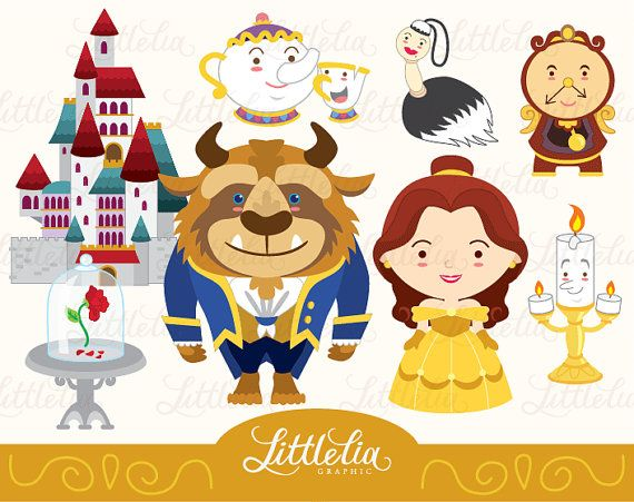 Beast clipart cartoon And clipart & clipart LittleLiaGraphic
