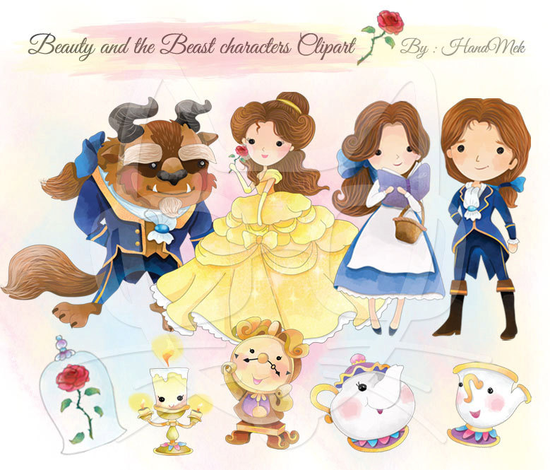 Beast clipart cute Character Cute PNG and Beauty