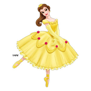 Yellow Dress clipart beauty and the beast belle And Disney beast beaty the