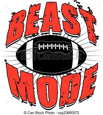 Beast clipart football Design  060 of Mode