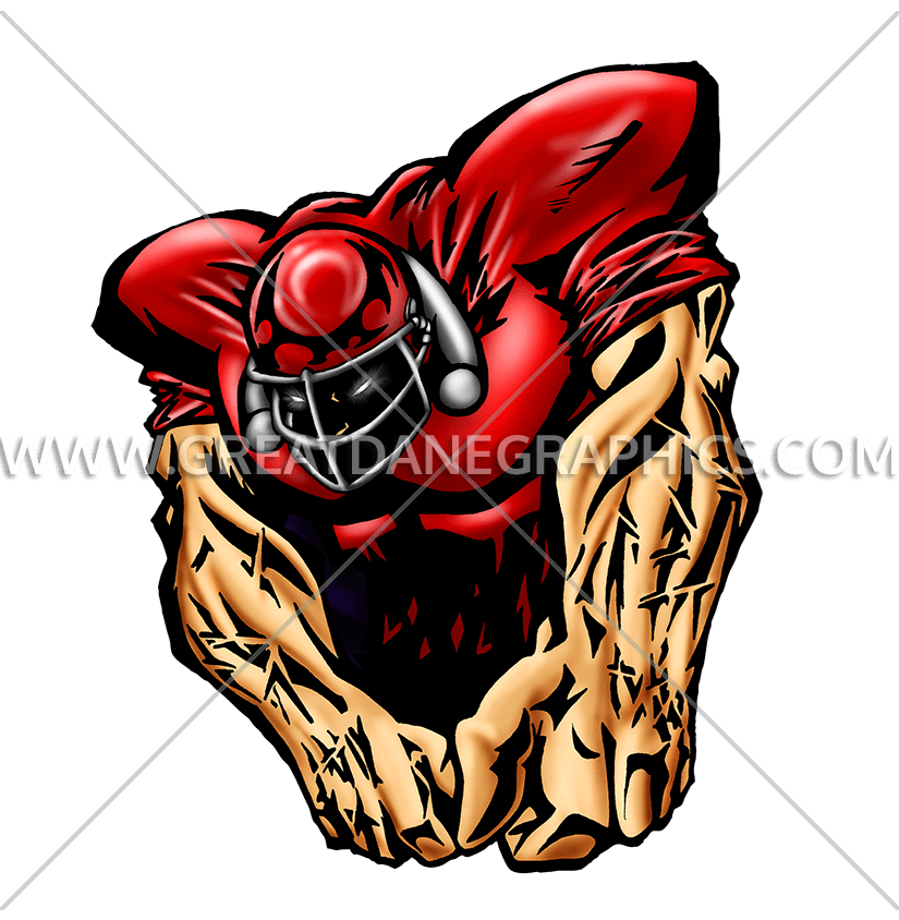 Beast clipart football Shirt  Artwork Production T
