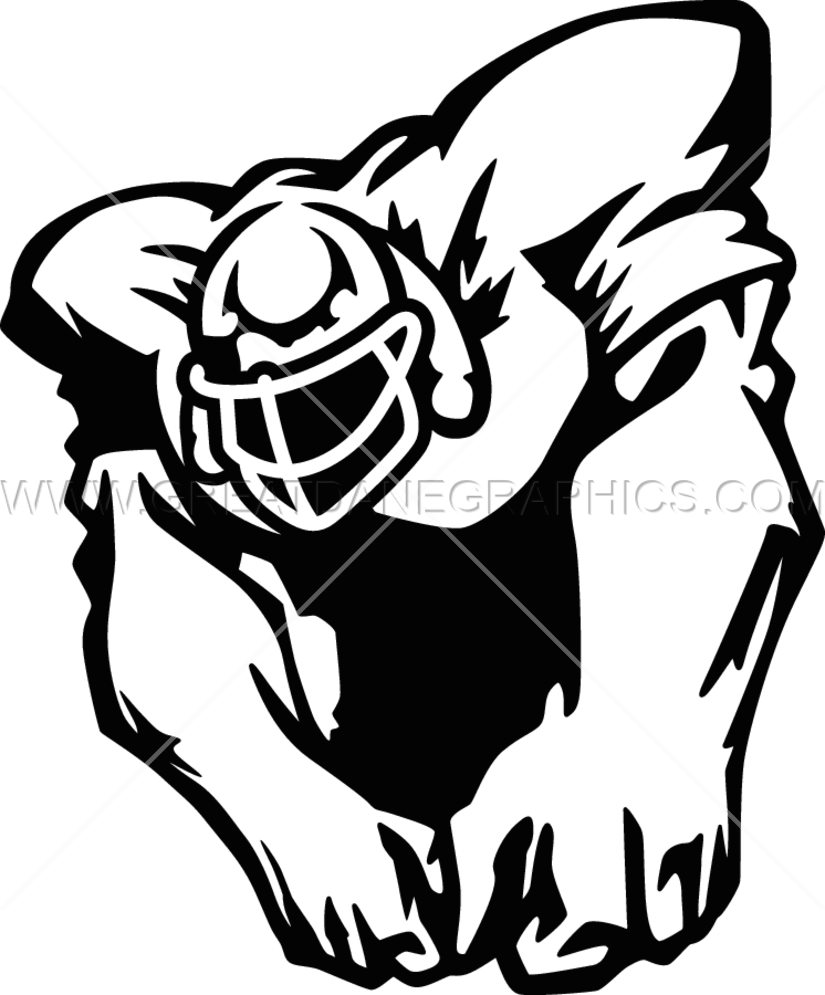Beast clipart football T Football Ready Beast for
