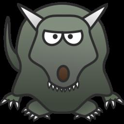 Beast clipart green Free Use 11 Art monster24