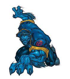 Beast clipart marvel * men Dr McCoy Blue