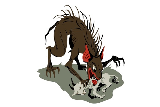 Beast clipart mean monster Webster 15 Ghosts and Creatures