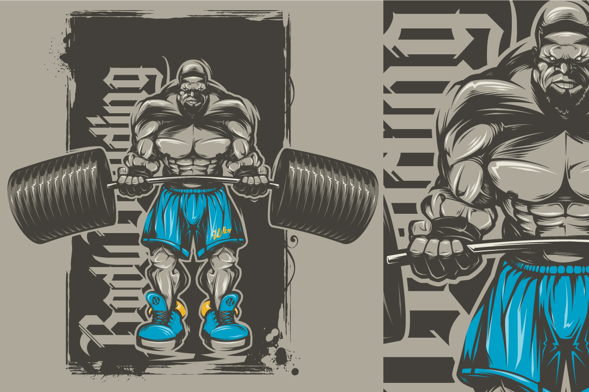 Beast clipart muscle #14
