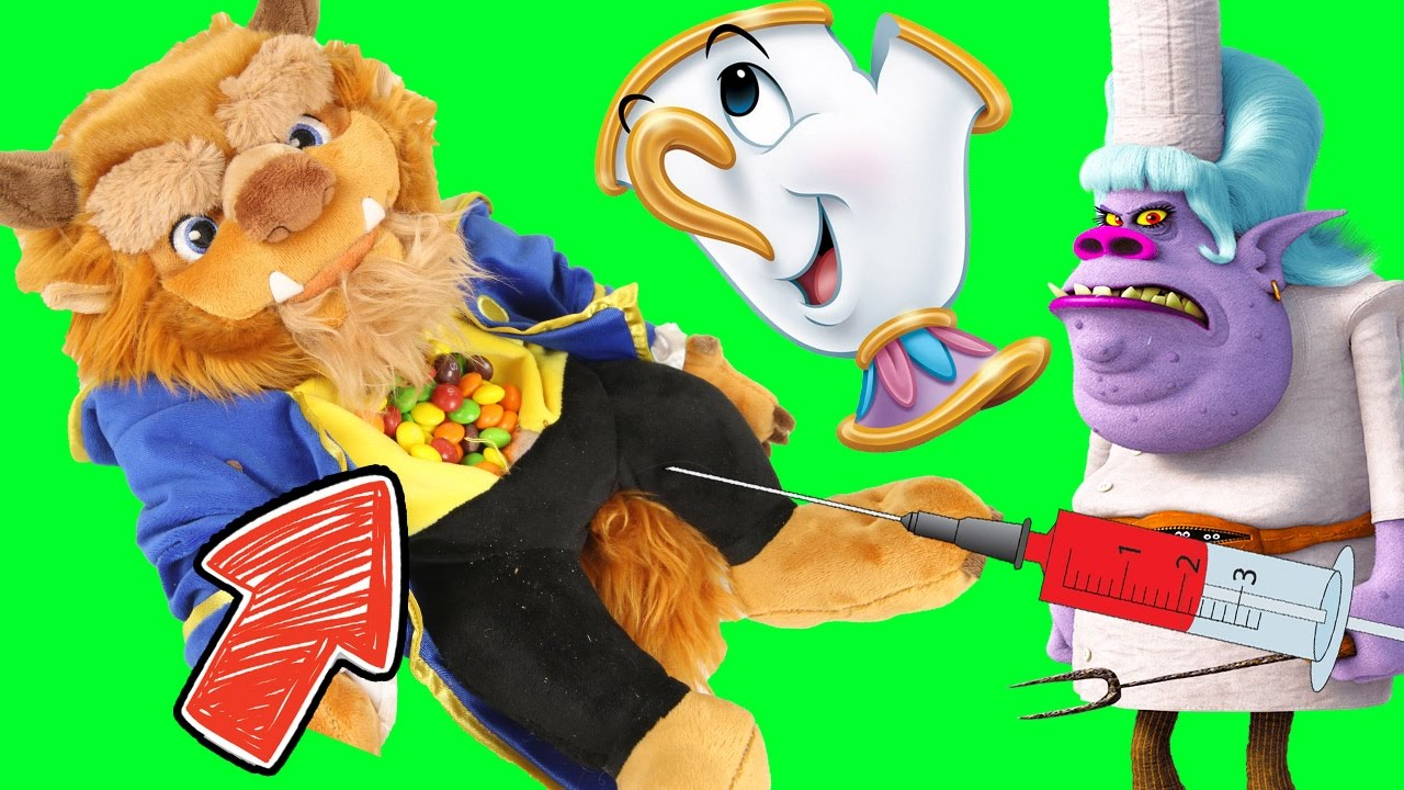 Beast clipart paw Poppy Disney Bergen Chef with