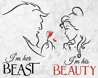 Beast the SVG silhouette the