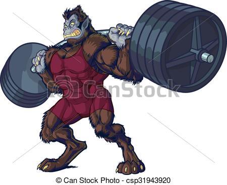 Beast clipart vector #2