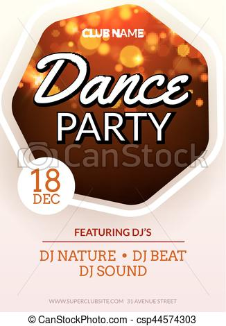 Beats clipart dj dance party Party  Dance for template