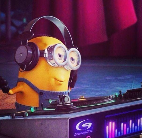 Beats clipart dj decks #music House! minion images VINYL