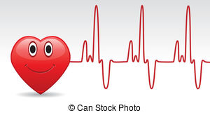 Beats clipart heart health EPS Vectorby Heartbeat 693 heartbeat