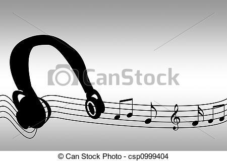Beats clipart music headset Of Drawing csp0999404  beats