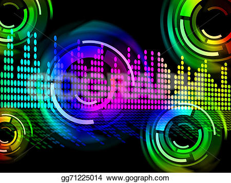 Beats clipart sounds Music beats Clipart Digital Drawing
