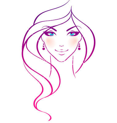 Hair clipart beautiful woman #13