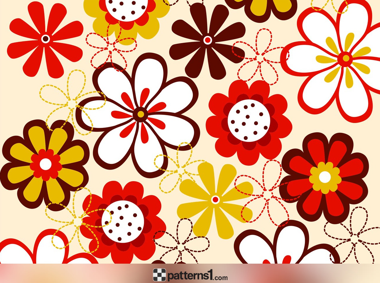 Beautiful clipart beautiful flower Patterns1 by Drawing  Flowers