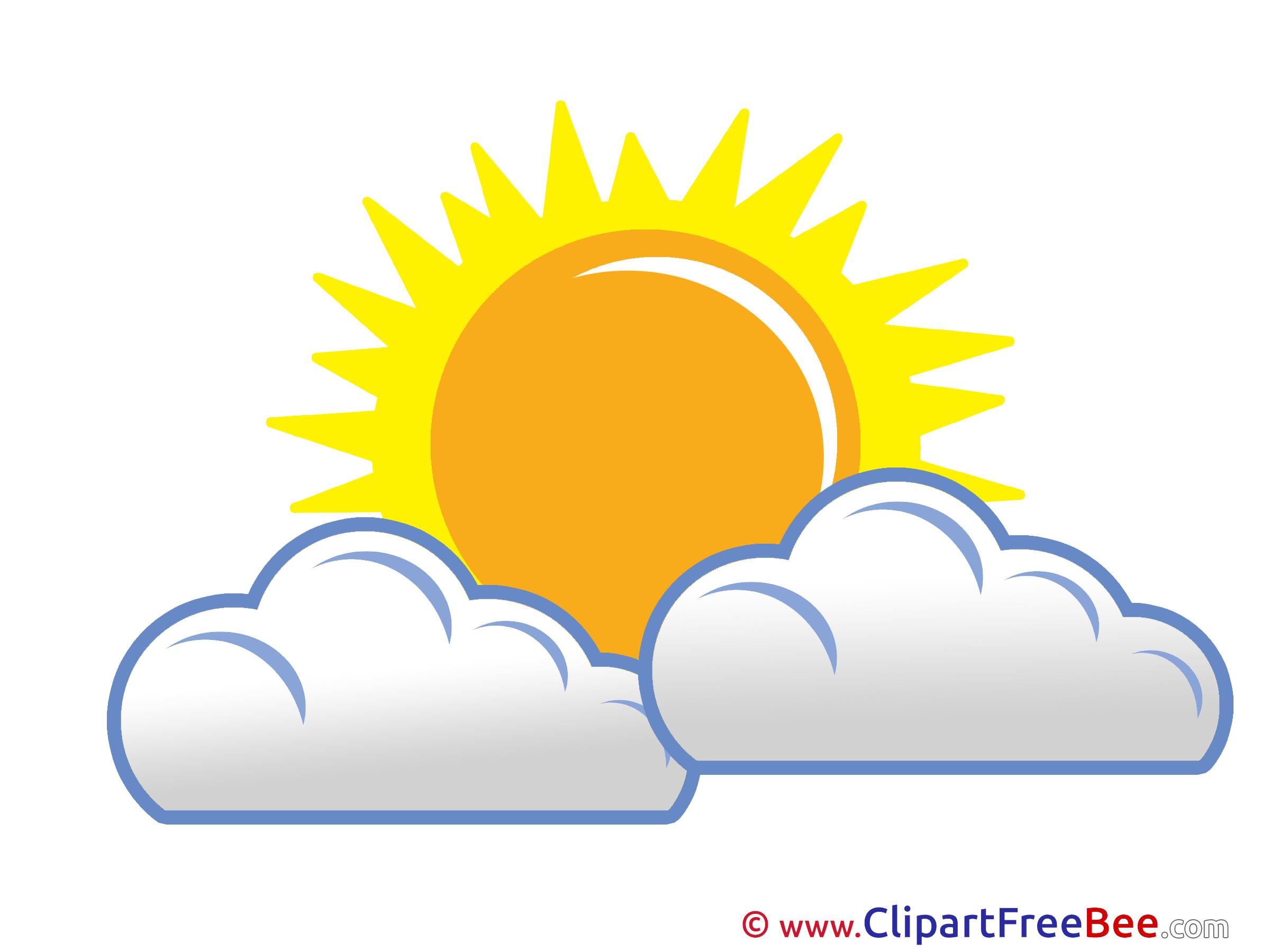 Beautiful clipart beautiful weather Free Clouds Beautiful Weather Sun