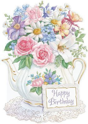 Beautiful clipart birthday flower Victoria with in Wilson Message: