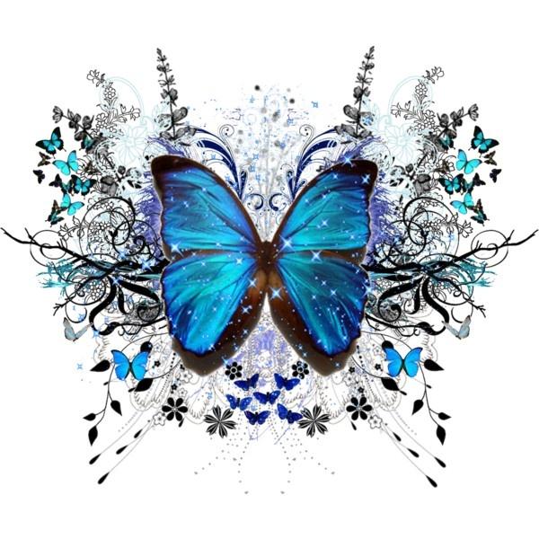 Beautiful clipart blue butterfly Secrets the moonlight best butterfly