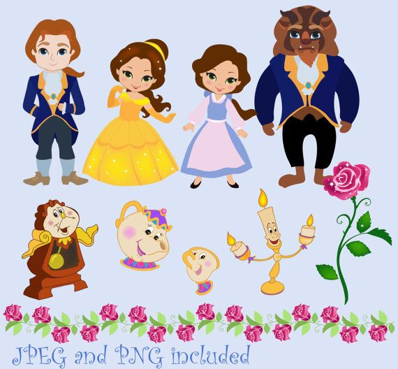 Beautiful clipart cute princess Digital Clipart Beauty Pinterest 25+