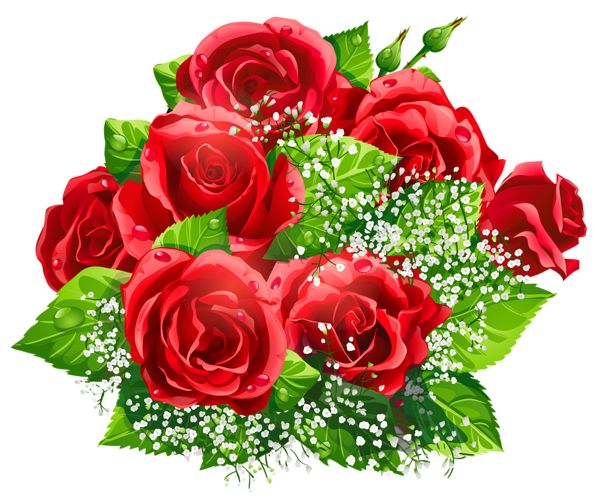 Beautiful clipart dozen rose Images 261 best Roses Red