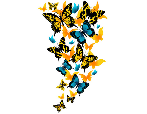Beautiful clipart wig Butterflies Download Butterfly Beautiful Free